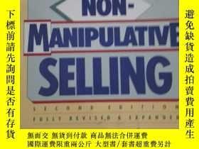 二手書博民逛書店NON-MANIPULATIVE罕見SELLINGY292349