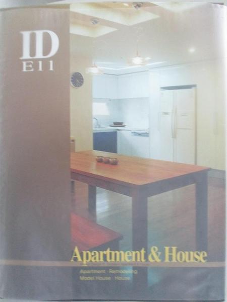 【書寶二手書T4/設計_DT3】Selected apartment & house _publisher & editor, Jeong, Ji-seong.