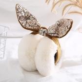 耳套保暖耳罩女冬季韓版可愛卡通護耳朵毛絨耳暖耳包耳捂折疊  遇見初晴