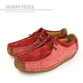 Clarks NATALIE 袋鼠靴 戶外休閒鞋 紅 女款 no525