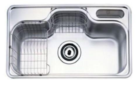 歐雅系統家具 系統廚具/ EGGER 赫里翁 【韓國進口-PDS-888 大單水槽】