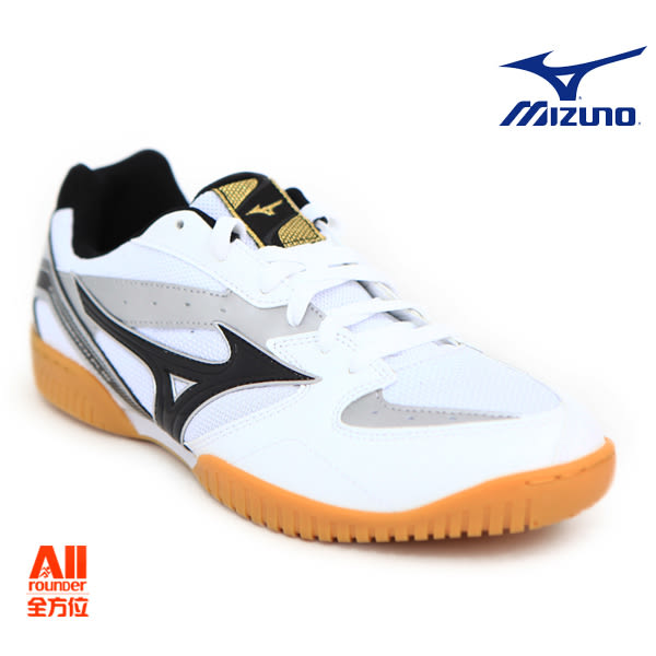 【Mizuno美津濃】男款桌球鞋 CROSSMATCH PLIO RX4-白色(81GA183009)全方位運動戶外館