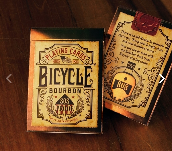 【USPCC撲克】Bicycle Bourbon Playing Cards
