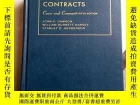 二手書博民逛書店CASES罕見AND COMMENT ON CONTRACTS(合同案例和評論,第五版)Y11897 見圖 見
