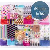 iPhone 6/6s (4.7吋) 蕾絲花圖 TPU 材質 彩繪 手機套 手機殼 保護殼 保護套 配件