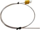 TECPEL 泰菱》K-TYPE 1.6mm 不鏽鋼 熱電偶 1M -50~800度 咖啡豆測溫線  探針 溫度測線