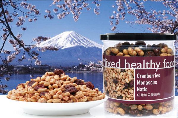 [ 五桔國際] 紅麴納豆蔓越莓 220g/罐
