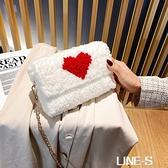 手工編織包包diy材料包毛線網格自制泫雅女包抖音同款斜挎包成品