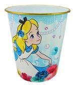 【卡漫城】 愛麗斯 垃圾桶 花朵 ㊣版 寶石 夢遊仙境 Alice 日版 辦公室 房間 家用 垃圾筒 塑膠桶