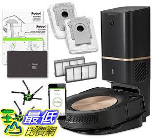 [8美國直購] 吸塵器 iRobot Roomba s9+ (s955020) Robot Vacuum Bundle with Automatic Dirt Disposal- Wi-Fi Connected