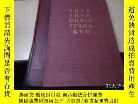 二手書博民逛書店THEA罕見TRVM ORBIS TERRA RVM(1964年