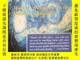 二手書博民逛書店VALUES罕見IN THE KEY OF LIFE:Making Harmony in the Human Co