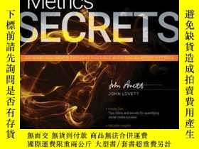 二手書博民逛書店Social罕見Media Metrics SecretsY410016 John Lovett ISBN: