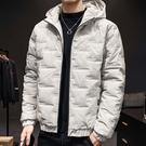 潮流時尚日系街頭保暖鋪棉加厚連帽外套