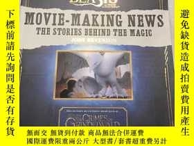 二手書博民逛書店神奇的動物在哪裏罕見電影新聞製作 美版 Fantastic Be