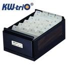 KW 名片盒 800片 04800 (顏色隨機出貨) / 組