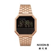 NIXON RE-RUN 玫瑰金/ 電子錶 A158-897 NIXON官方直營