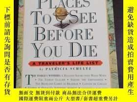 二手書博民逛書店1000PLACES罕見TO SEE BEFORE YOU DIE (你死前要看1000个地方) 【英文原版】