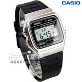 CASIO卡西歐 LED照明 電子錶 F-91WM-7A 男錶 中性錶 運動錶 學生錶 日期 計時碼表 黑 F-91WM-7ADF