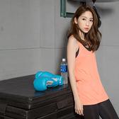 OrangeBear《KS0068》台灣品質.世界同布~純色修身透氣背心.5色--適 S~3L