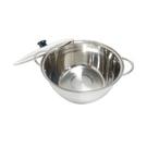 台灣製 派樂304不銹鋼湯鍋含玻璃蓋1組-28公分大容量火鍋 適用瓦斯爐 電磁爐