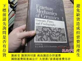 二手書博民逛書店fracture罕見mechanics of ceramics