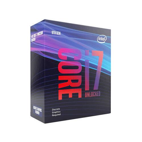 全新 INTEL 盒裝Core i7-9700KF