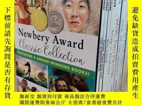 二手書博民逛書店兒童英語小說Newbery罕見Award 紐伯瑞兒童文學獎小說 全8冊Y401364