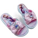 【樂樂童鞋】台灣製冰雪奇緣拖鞋-粉色 F068 - 女童鞋 拖鞋 大童鞋 室內鞋 沙灘鞋 現貨 台灣製 MIT