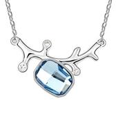 項鍊 925純銀 水晶銀飾墜子-閃耀動人生日情人節禮物女飾品3色73aj516【時尚巴黎】