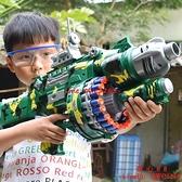兒童電動連發玩具槍軟彈槍男童子彈狙擊搶手槍男孩子吸盤【齊心88】
