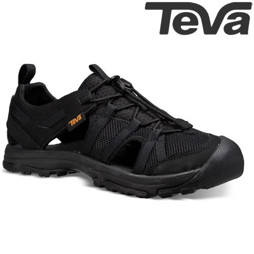 TEVA Kids青少兒童護趾多功能水陸運動鞋MANATEE - 黑(大童)