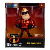 《 Disney 迪士尼 》4吋合金公仔 - 超能先生╭★ JOYBUS玩具百貨