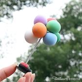 汽車擺件車載告白氣球網紅可愛創意氣球擺件車內裝飾用品漂亮男女