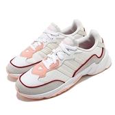 adidas 慢跑鞋 20-20 FX 米白 紅 女鞋 緩震 透氣 低筒 運動鞋 【ACS】 EG7549