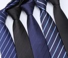 領帶 領帶男士正裝商務紅色黑色職業結婚新郎韓版懶人拉鏈免打手打領帶【快速出貨八折搶購】