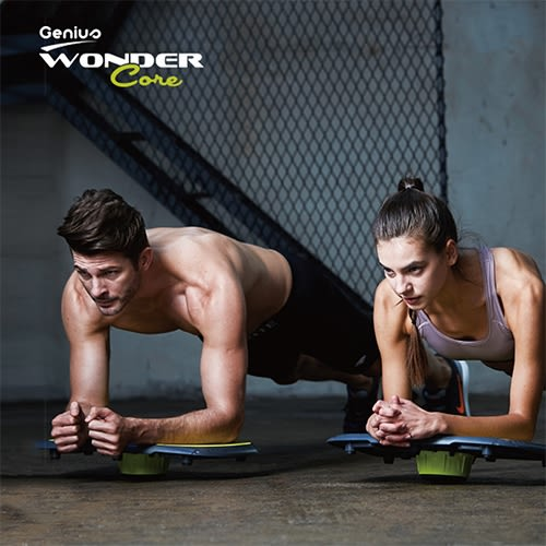 Wonder Core Genius 智能APP全方位運動教練健身器+運動毛巾WCG91-WT【愛買】