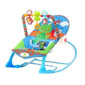 嬰兒搖搖椅平衡搖籃寶寶安撫搖椅新生兒bb可躺有音樂多功能哄娃神器  XY1458  【男人與流行】