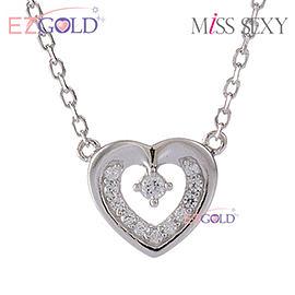 Miss Sexy銀飾♥永恆之心♥銀飾項鍊