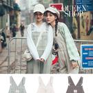Queen Shop【04050617】銀釦多口袋造型斜紋吊帶褲 三色售*現+預*