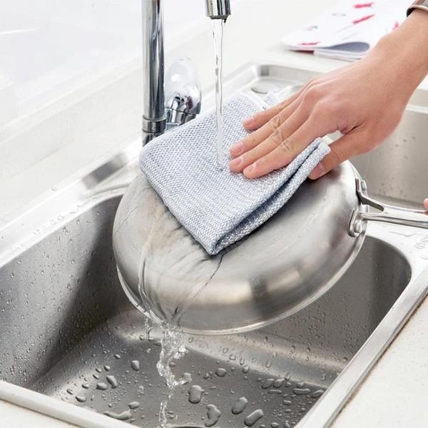 [超豐國際]金銀絲雙面抹布不沾油洗碗布廚房加厚不掉毛洗碗巾擦碗毛巾