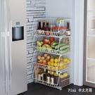 家用廚房蔬果蔬菜置物架多層收納筐收納籃蔬...