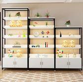化妝品展櫃貨 櫃精品展示櫃貨架展示架陳列櫃置物架鞋架 (4層1.2+5層1.2+6層1.2) jj
