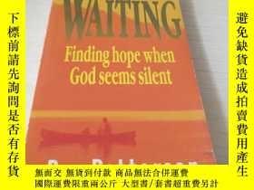 二手書博民逛書店WAITING罕見Finding hope when God s