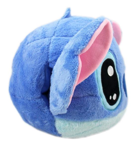 【卡漫城】 史迪奇 暖手枕 小圓 30CM ㊣版 星際寶貝 Stitch 外星人 絨毛娃娃 抱枕 午睡枕  迪士尼