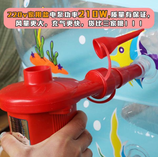 游泳池充氣泵氣墊床橡皮艇電動打氣筒兒童游泳圈車載打氣家用便攜 NMS小明同學
