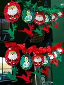 圣誕節裝飾用品店鋪店面珠寶店創意氛圍場景布置飾品吊旗掛飾掛件 英雄聯盟