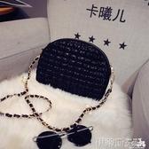 貝殼包2020新款韓版女士包鍊條小包蕾絲貝殼包復古小包包單肩包斜挎包潮 伊蒂斯