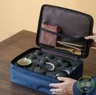 茶具套裝 日式簡約家用功夫便攜式旅行茶具套裝一壺四六杯小套禮品定制logo-快速出貨