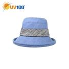 UV100 防曬 抗UV-輕量柔邊淑女帽